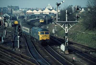 47472 leaving Norwich with 12.28 Liverpool St 18/2/84