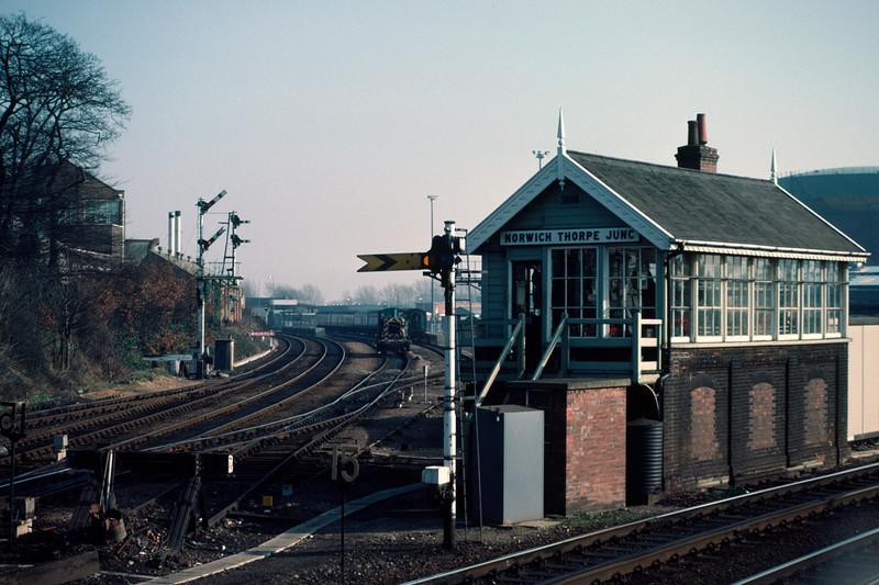Norwich Thorpe Jct Box – 03180 18/2/84