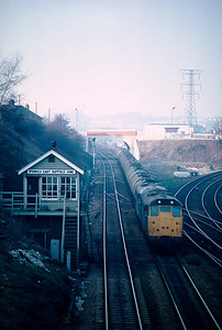 31168 31 186 passing Ipswich east Suffolk Jct   with North wareham – Parkeston Quay? 18/2/84