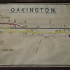 Oakington Track Plan. Thanks to Richard Pike. Plan enhanced by Owen Stratford.