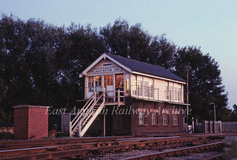 Chesterton Junction Signal Box