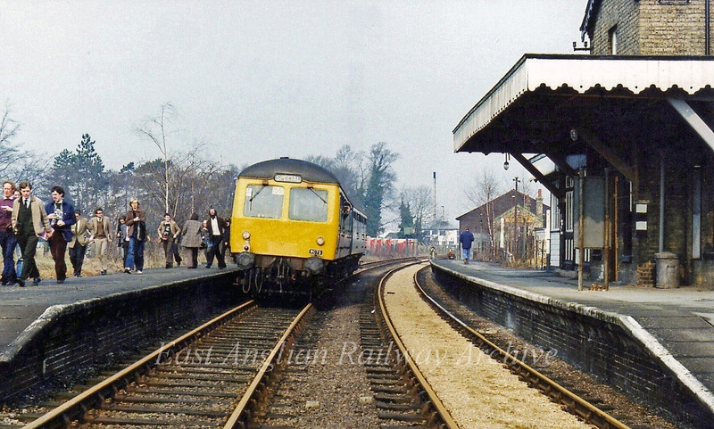 RCTS Special at Histon 7th May 1979. A reminder of just how things used to be.