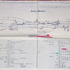 Long Stanton trackplan. Courtesy of Richard Pike.<br /> Longstanton had an Up goods loop with a capacity of 95 standard wagons and a Down goods loop with a capacity of 100 standard wagons. The box had 48 levers.