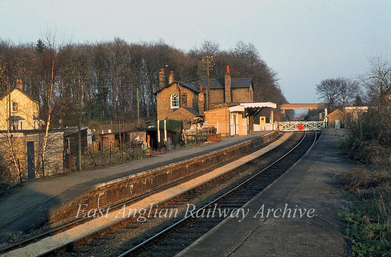 A pleasant evening shot of Histon.  c1981