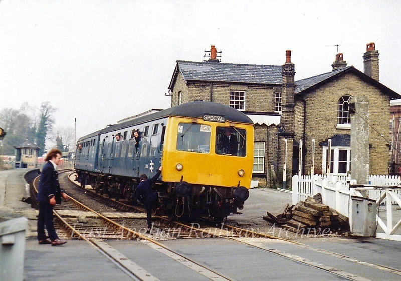 RCTS special at Histon 7th May 1979