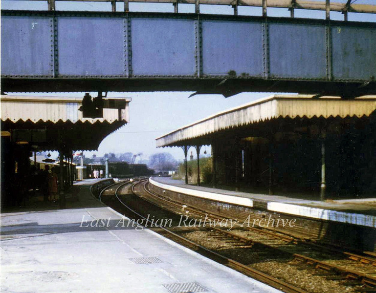 St Ives facing Somersham on 4th March 1967. Photo with kind permission of Stewart Ingram