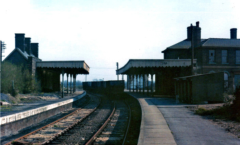 St Ives facing Swavesey on 31st March 1974.