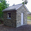 The crossing keepers hut at Histon which was saved from demolition and rebuilt and restored by local volunteers.