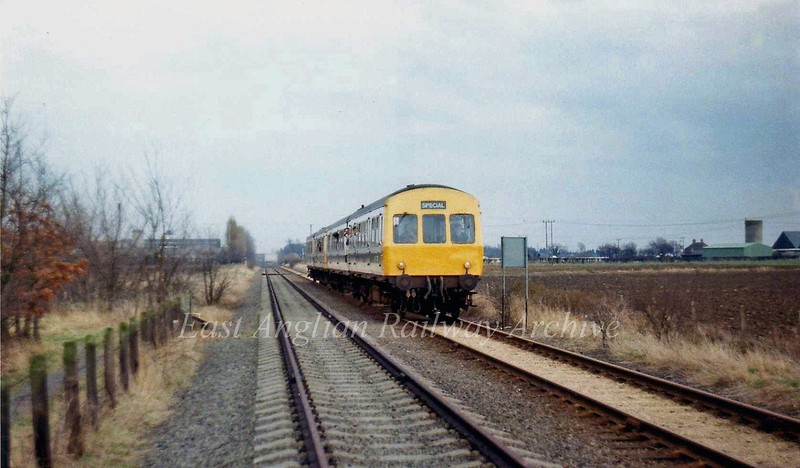 A Railway Development Society Special recorded between Histon and Girton Road crossing on 31st March 1979.