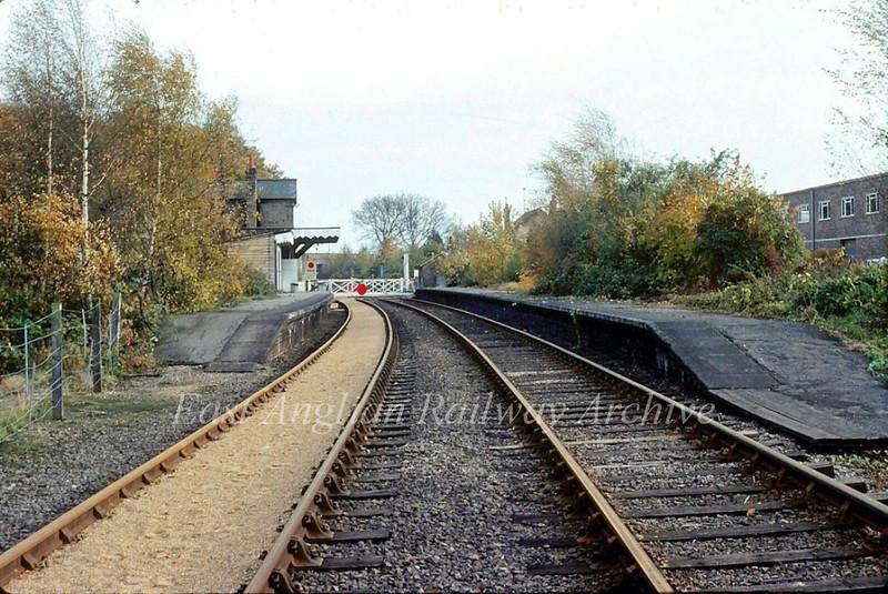 Histon Station c1981