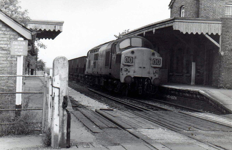 37085 at Oakington.  27th July 1976