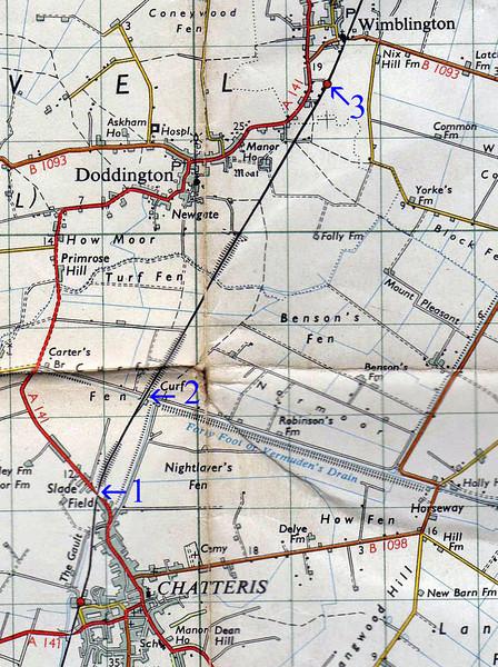 Chatteris to Wimblington