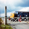 6773 with pre TOPS Number, later 37073 at Girton Road Crossing in April 1973