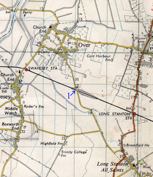 Longstanton to  Swavesey