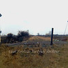 Remains of crossing gates at Short Drove/Somersham Fore Fen, north of Somersham.  April 1973