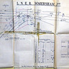 "LNER Somersham Junction showing line to Ramsey East. Somersham signal box had 60 levers. Thanks to Richard Pike for the diagram. An improved version by Owen Stratford here. <a href=""http://www.flickr.com/photos/68227206@N05/7704306838"">http://www.flickr.com/photos/68227206@N05/7704306838</a>"