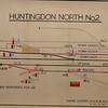 Huntingdon North Box track layout. Courtesy of Richard Pike.