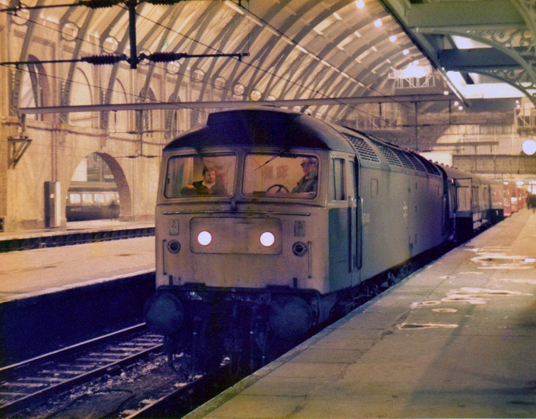 Class 47 at Kings Cross.