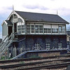 Helpston Signal Box.  20th April 1980