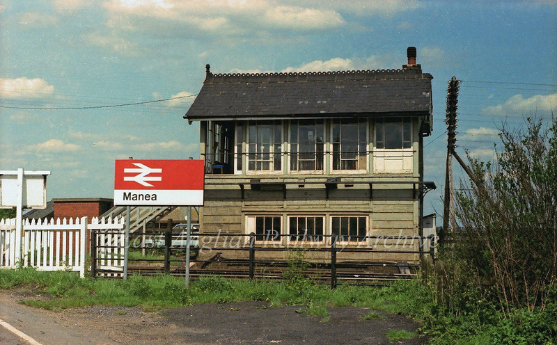 Manea Signal Box.  19th May 1979