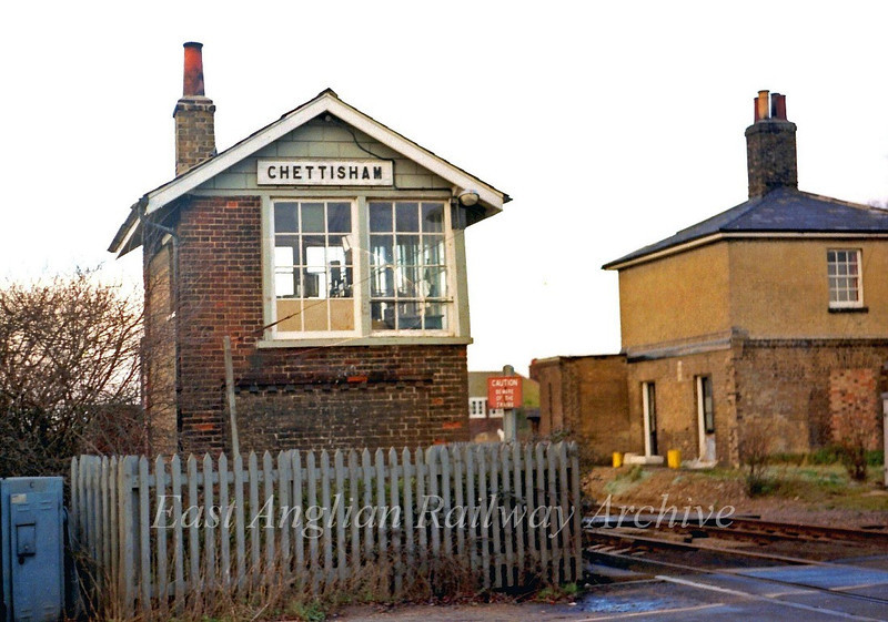 Chettisham Signal Box c1979