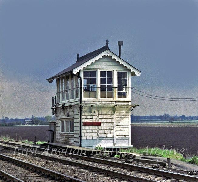 Black Bank Signal Box.  3rd May 1979