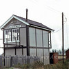 Horsemoor Signal Box.  23rd September 1979. The box is now located at Murrow.