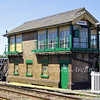 Brandon Signal Box. 2nd June 2009 The box which was built in 1931 is now out of use.