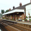 The well looked after down platform at Wymondham 23rd August 2006. Photo Peter Heath