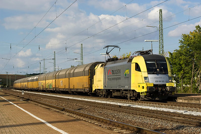 Followed a few minutes later by ES 64 U2-011 ( Rottendorf 13/09/12)
