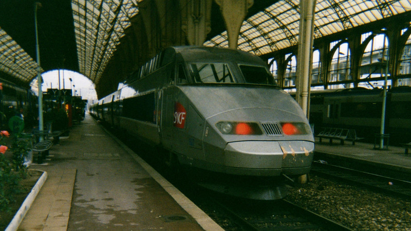 TGV at Nice Ville  October 2005.