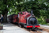 Prince returns to minfordd with a shuttle from Porthmadog 23/6/18
