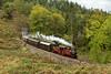 David Lloyd George drifts downhill with the 13.25 from Blaenau to Porthmadog