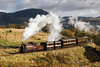 Palmerston on one of its run pasts on the spiral - 4 November 2013