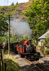 Walking back to Llyn Mair and time to photograph David Lloyd George at Coed-y-Bleddiau heading the 11.25 fro port.   The house here has been taken under the wing of the Landmark trust and will be restored as a holiday let - just don't expect to drive up to the door 17 August 2016