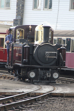 Taliesin at Porthmadog Harbour. 8 August 2012