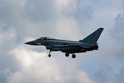 Back in my time at RAF Leuchars it was Phantom F4 and Tornado F3 aircraft that would have been photographed here.