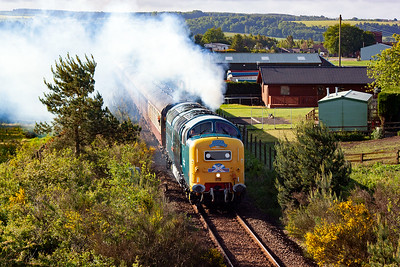 A Deltic on a railtour is always going to be a favourite leading to a sell out.