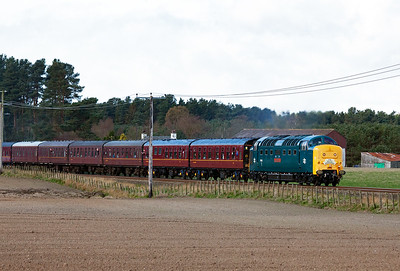 A Deltic on the mainline is always worth a trip out for.