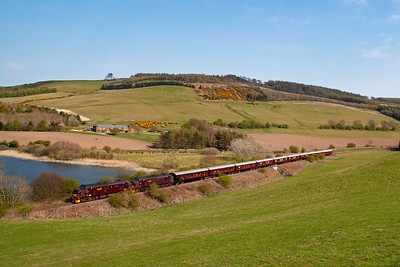 The destination tonight is Keith and no doubt the passengers will have a distillery visit somewhere. All accommodation is on board the train and this tour will cost around £4000 a head. 21/4/2014