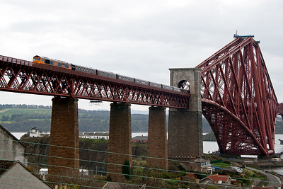 As a result of a serious SPAD on the Western Region with a steam hauled railtour, West Coast Railway Company had its operating licence revoked for a period of time and was unable to operate the Royal Scotsman.  The company sub contracted GBRf to work the trains.