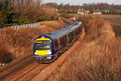 170459 forms a class 2 working, 2K56 1219 Markinch to Edinburgh.