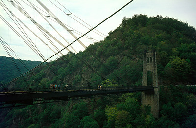 The viaduc de rocher noir is pretty substantial for what was a minor railway