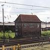 Signal box outside Lubeck station