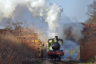 15th February 2008. 1450 on the Bluebell Railway