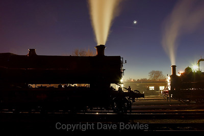 9th February 2008. Didcot Railway Centre