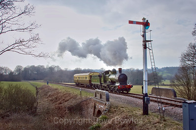 24th February 2008, Bluebell's Branch Line Weekend.
