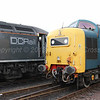 DC Rail Operated 56 312 Jeremiah Dixon with 55 022 Royal Scots Grey