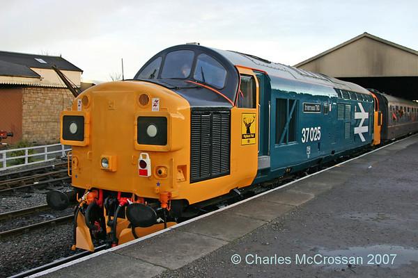BKR Class 37 Day, 29th December 2007
