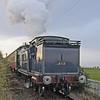 ex CR 0-4-4T 419 returning to Bo'ness from Birkhill_04/01/09